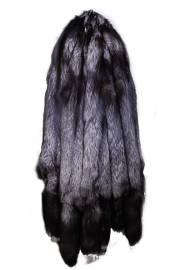 Лисица серебристо-черная низковорсовая