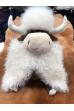 Игрушка кавказский бык из стриженной норки