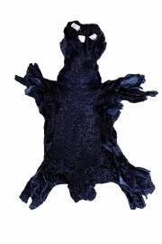 """Каракуль афганский крашеный """"Темно-синий"""""""