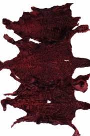 """Каракуль афганский крашеный """"Красный"""", уценка"""