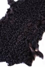 Каракуль узбекский черный, уценка