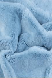 Пластина кролика рекс, голубой