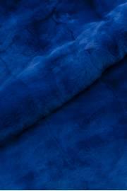 Пластина кролика рекс синяя