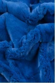 """Пластина кролика рекс """"васильково-синяя"""""""