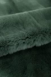 Пластина кролика Рекс крашеная зеленая