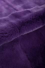 Пластина кролика Рекс крашеная фиолетовая