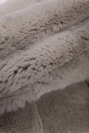 Пластина кролика Рекс крашеная жемчуг