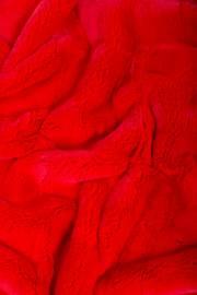 Пластина кролика Рекс крашеная красная