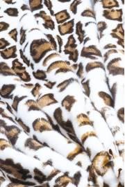 "Норка ""Леопард на белом"""