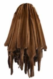 Норка натуральная, орех brown светлый