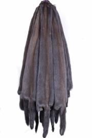 Норка темно-серая из сер-гол с хребтом