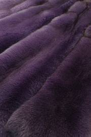 """Песец крашеный """"Фиолетовый 4"""""""