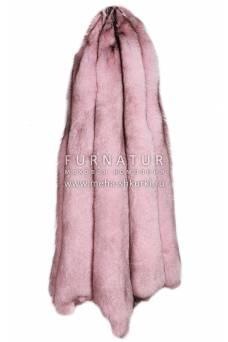 """Песец вуалевый крашеный """"Розовый"""""""