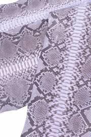 Кожа питона KTI diamond / col. Lavender - opaco