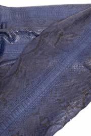 Кожа питона синяя