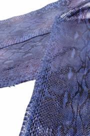 Кожа питона KTI xena / col. Blue