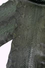 Кожа питона зеленая