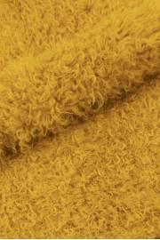 Пластина калгана крашеного жёлтая