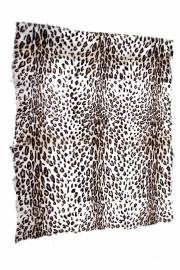 "Пластина ламы-голяк ""Леопард на белом"""