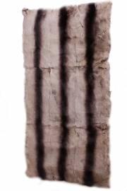 Пластина кролика Рекс бежеваяс тремя хребтами