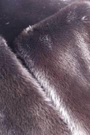 Выдра канадская крашеная коричневая