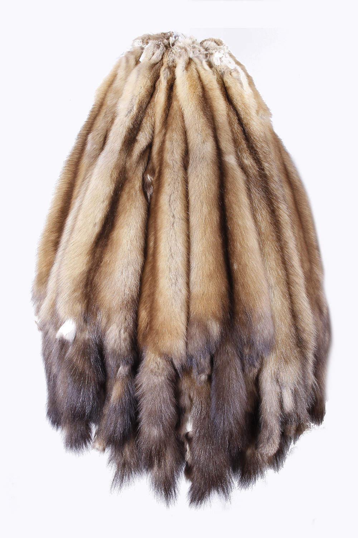 Мех соболя баргузинского, цвет 7, l; xl, глухой - купить в м.