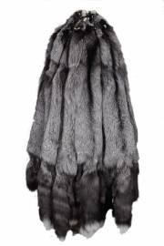 Лисица серебристо-черная отечественная