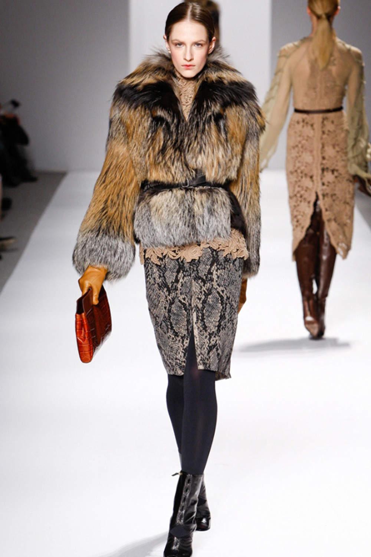 куртка из лисицы cross фото