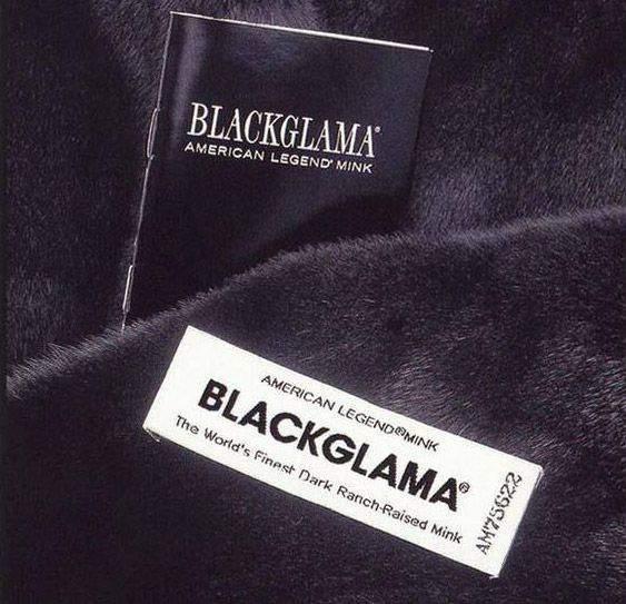 Blackglama логотип фото